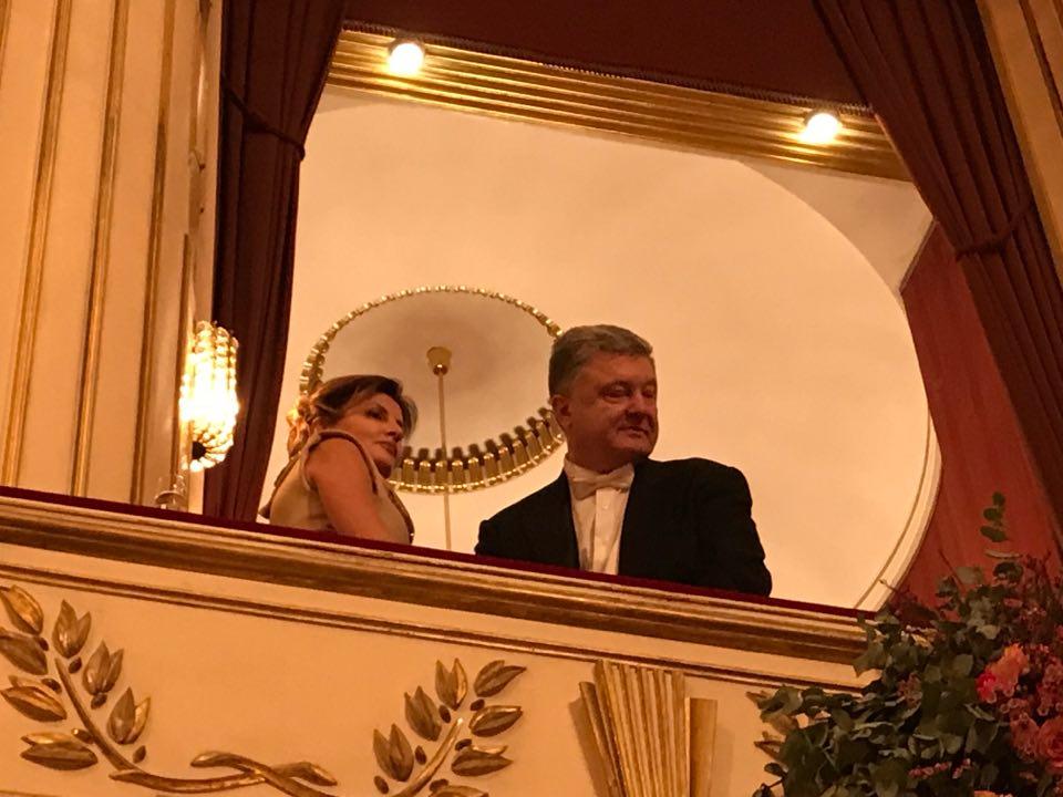 В Вене Порошенко ждал неприятный сюрприз от Femen