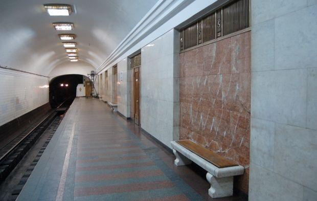 Киевский метрополитен предложил маску разместить на