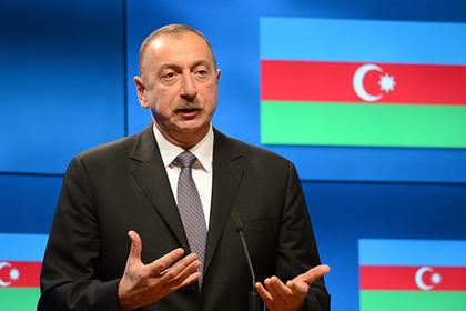 Ильхам Алиев назвал земли Армении