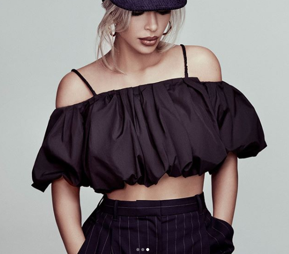 Ким Кардашян для Vogue Фото: Instagram/kimkardashian