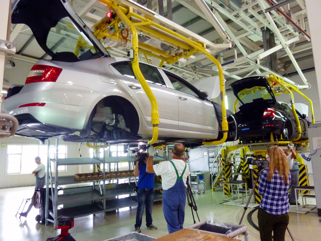 автомобили, производство