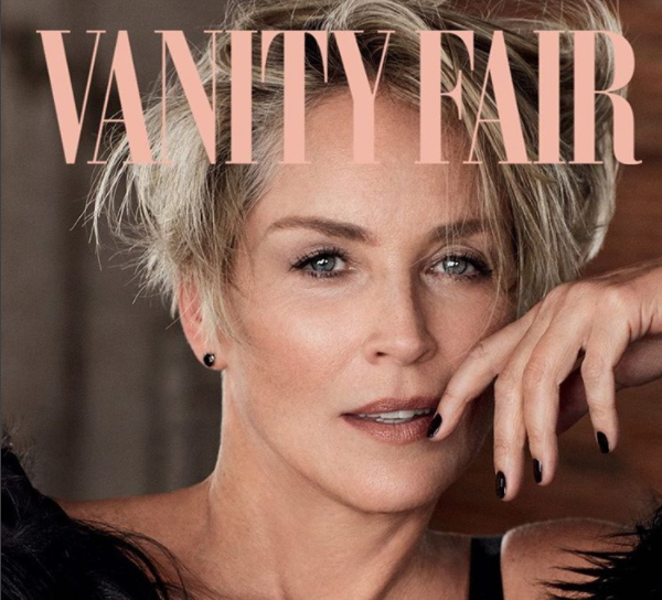 Шерон Стоун украсила обложку  Vanity Fair. Фото: Instagram/sharonstone