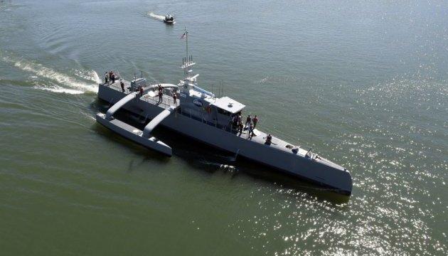 Беспилотный корабль Sea Hunter
