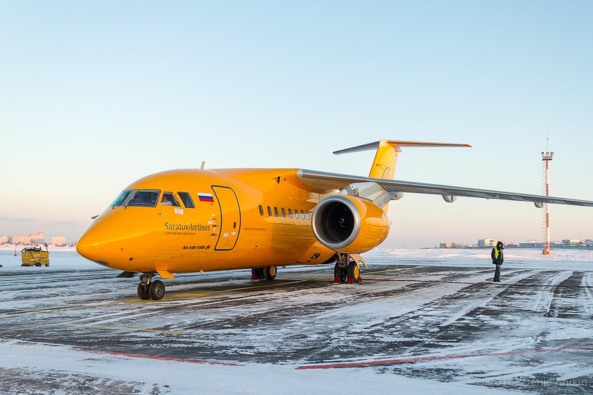 В России разбился пассажирский Ан-148