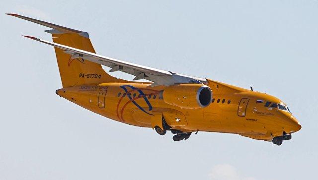 Самолет Ан-148 потерпел крушение в Подмосковье. Фото: РИА Новости/Марина Лысцева