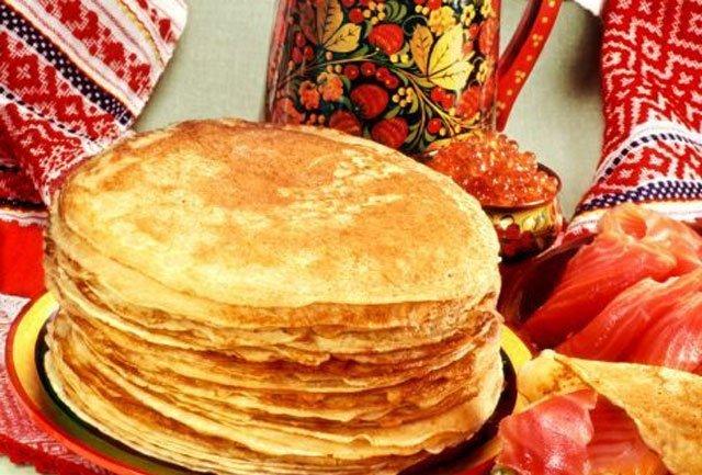 Блины - главное блюдо Масленицы