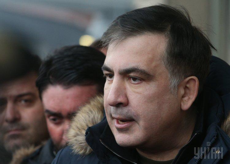 Михеил Саакашвили считает Петра Порошенко коррумпированным президентом