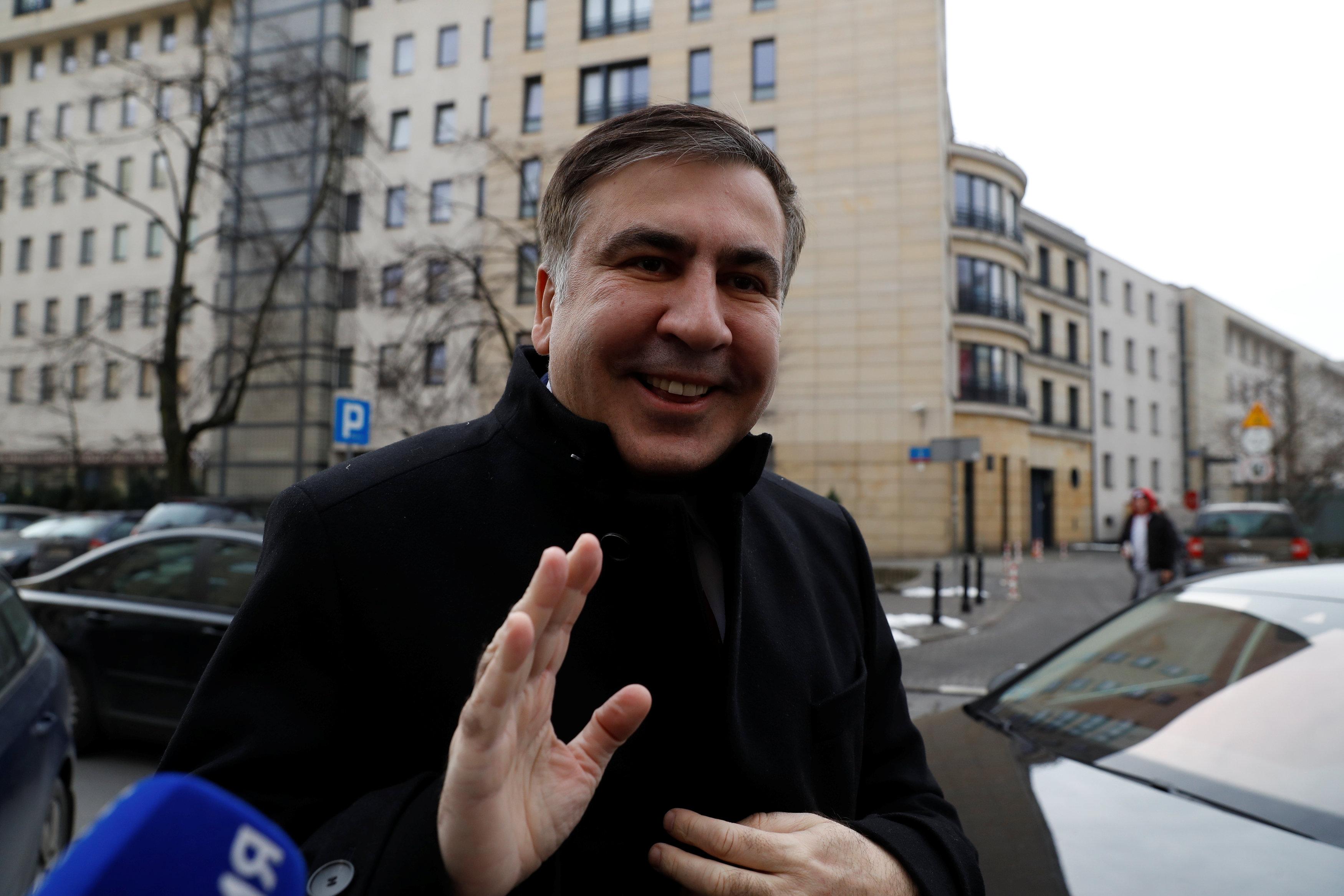 Михеил Саакашвили хочет вернуться в Украину 1 апреля, в ГПСУ сообщили, что не пустят его в страну