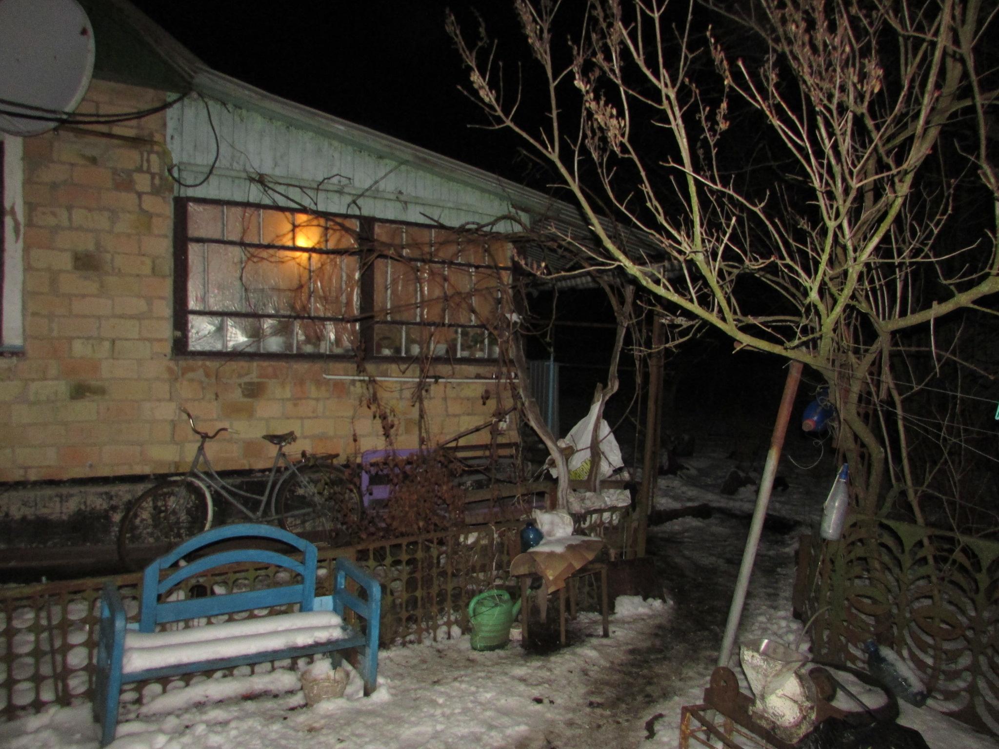 На Киевщине женщина зарезала мужа