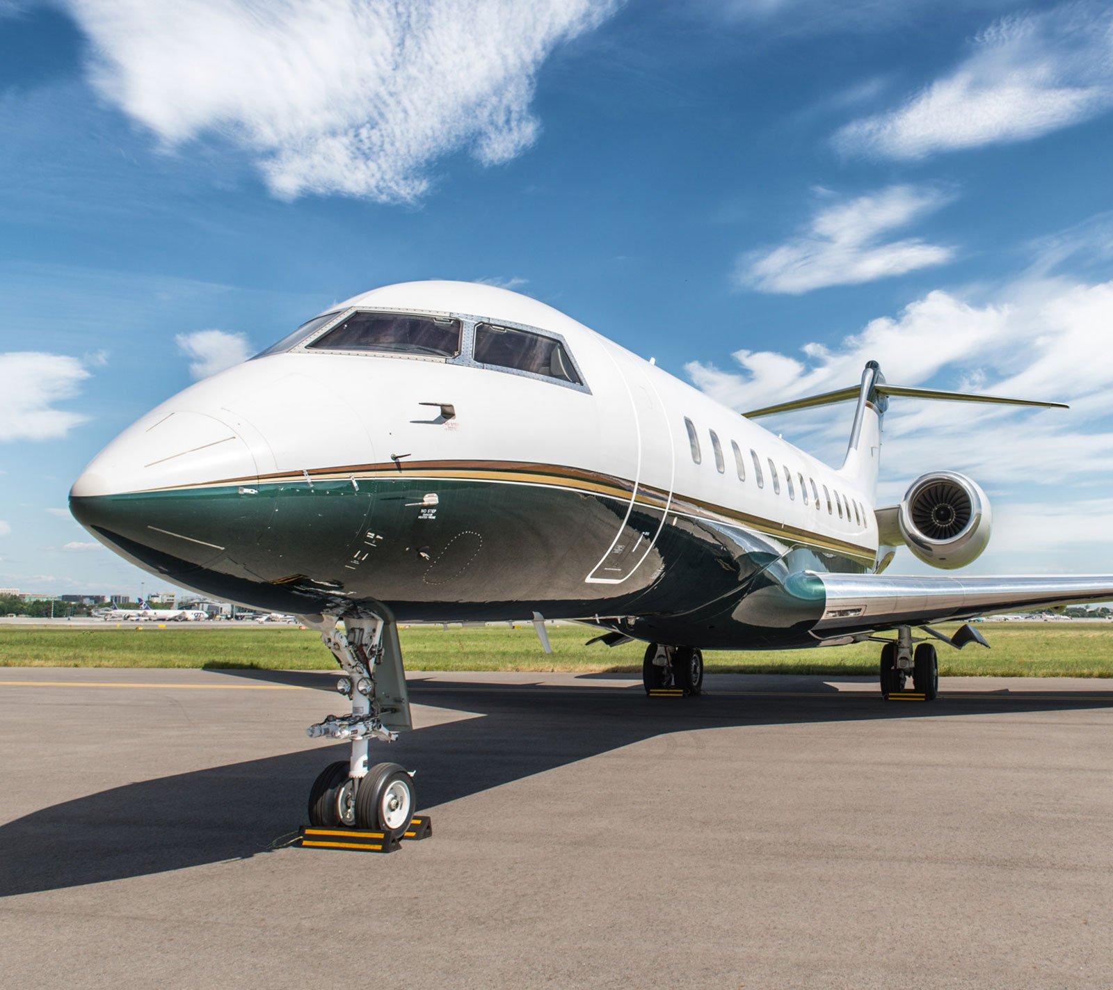 Саакашвили увез борт польской авиакомпании Jet Story. Фото: jetstory.com