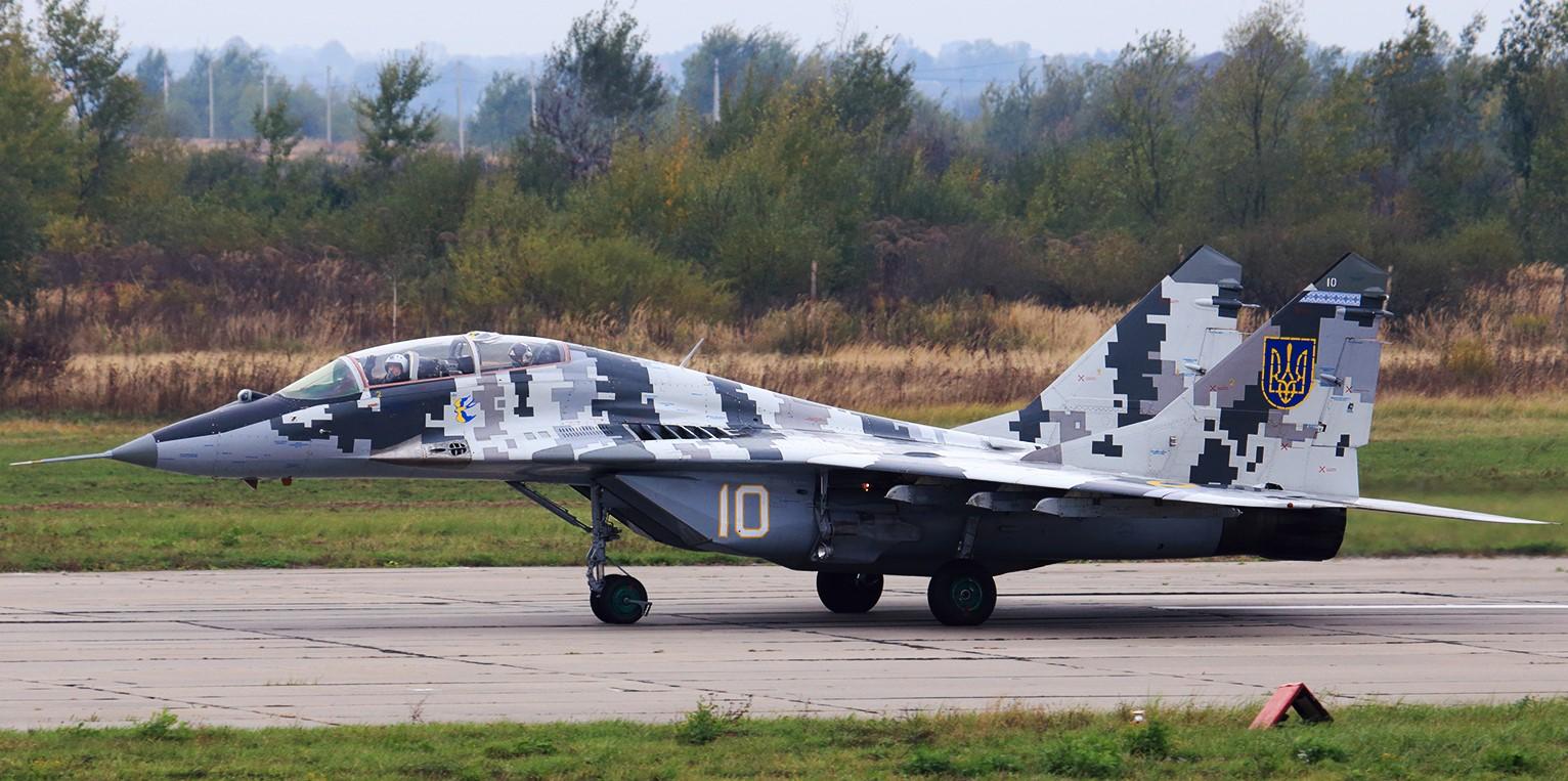 Украинский истребитель МиГ-29