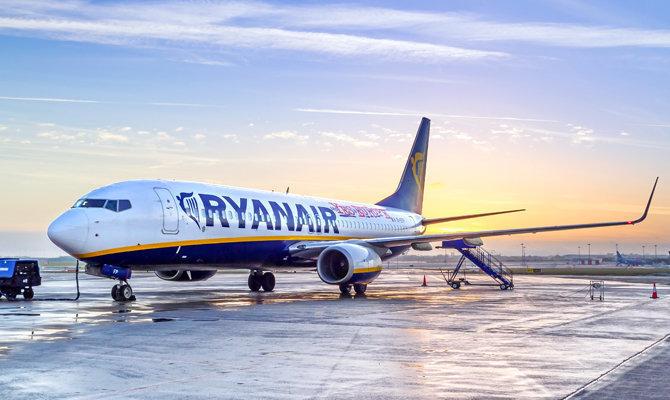 Ryanair будет летать из Киева в Берлин