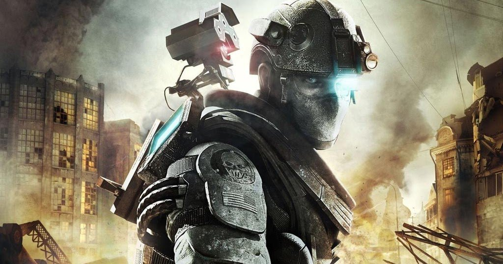 Концепт-арт игры Tom Clancy's Ghost Recon: Future Soldier.