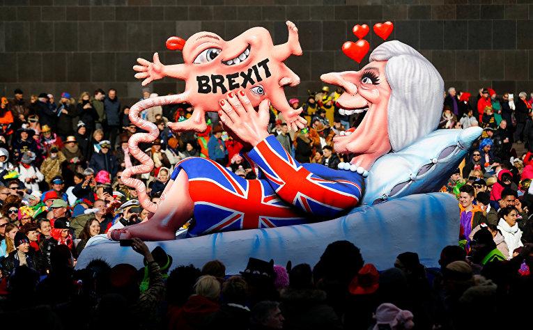 Британский премьер-министр Тереза Мей, которая родила Brexit