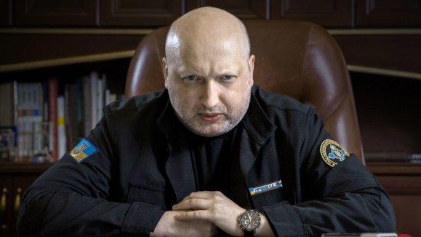 Турчинов рассказал, что мог достать из сумки автомат