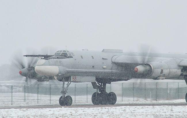 Российский штурмовик-бомбардировщик ТУ-95