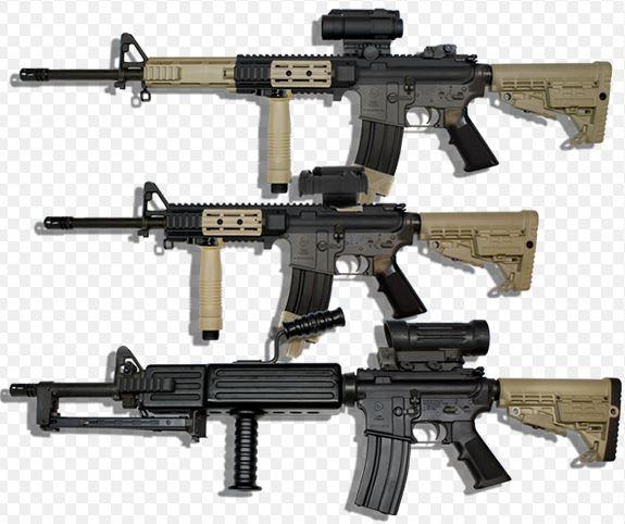 штурмовые винтовки Colt Canada