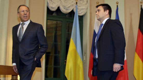 Павел Климкин и Сергей Лавров.
