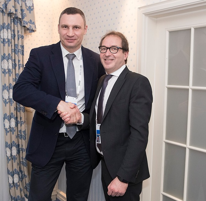 Виталий Кличко встретился с Александром Добринтом