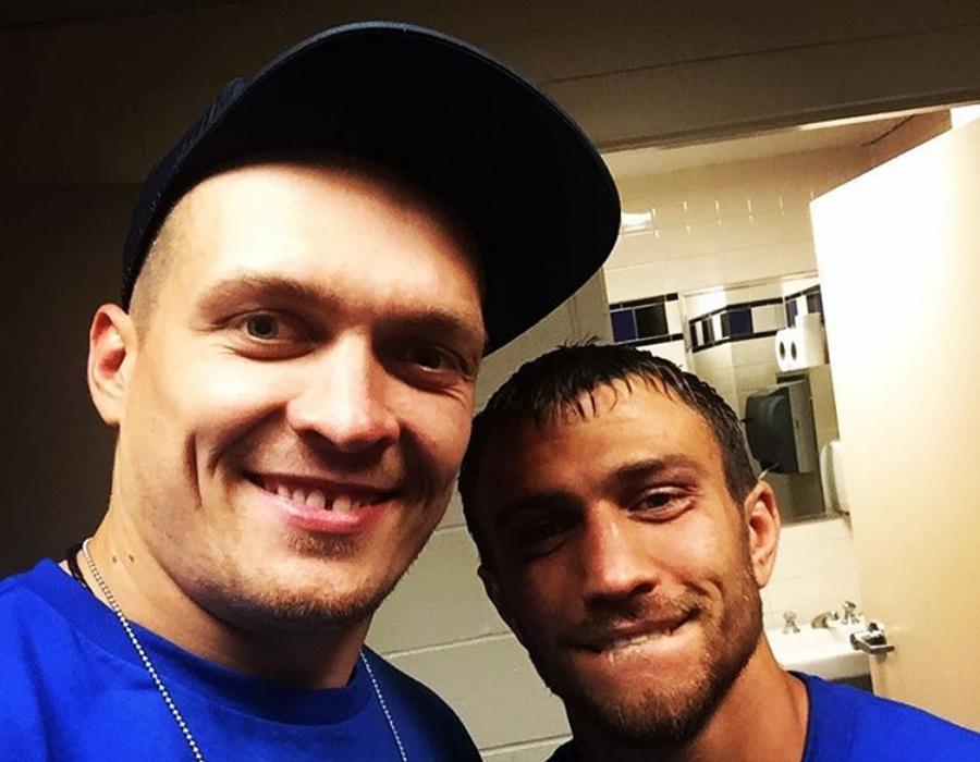 Александр Усик и Василий Ломаченко  Фото: Instagram Александра Усика