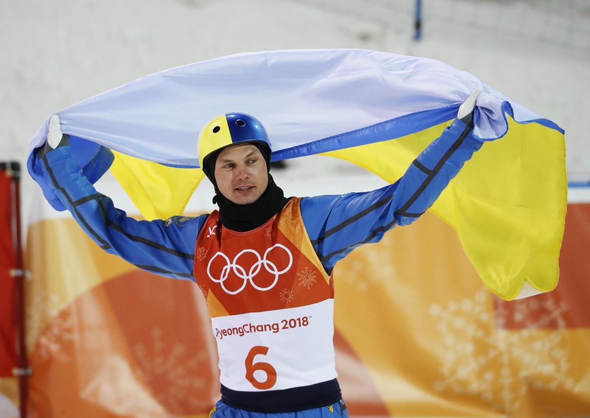 Олимпийский чемпион Александр Абраменко