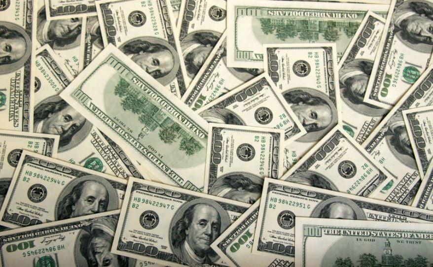 Доллары купюры