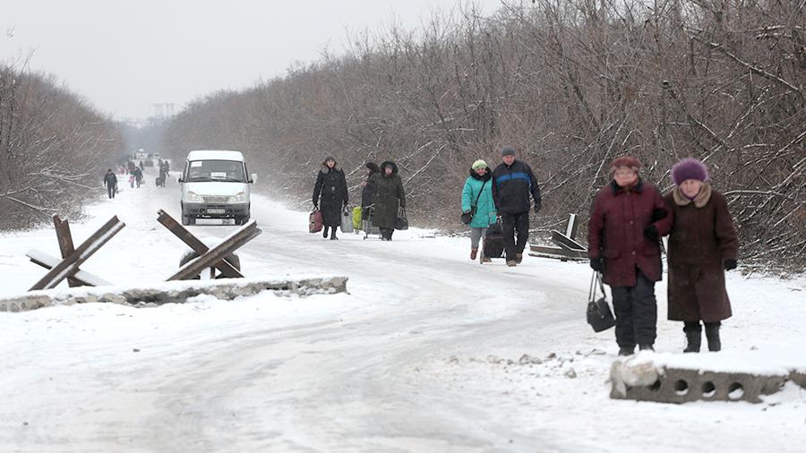 Эмиграция становится для Украины острой проблемой Фото: ТАСС/Михаил Соколов