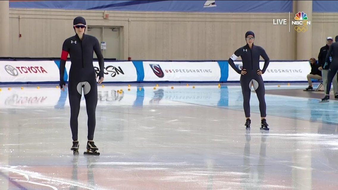 В Сети были обескуражены формой конькобежцев США