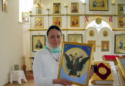Матушка Фотинья имеет свой приход и сравнивает Путина с учениками Христа Фото: portal-credo.ru