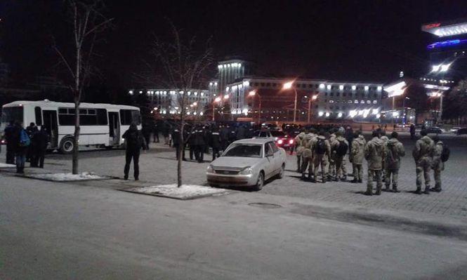 В Харькове между фанатами произошел конфликт Фото:  Facebook/Юлия Горобец
