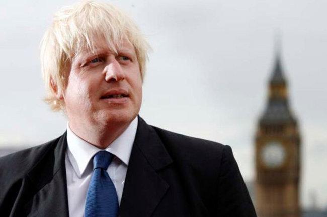 Борис Джонсон, глава британского МИДа