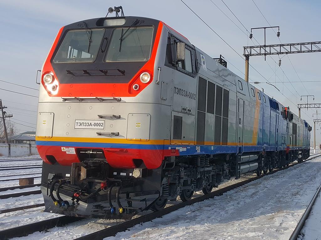 Украина договорилась с GE о производстве локомотивов