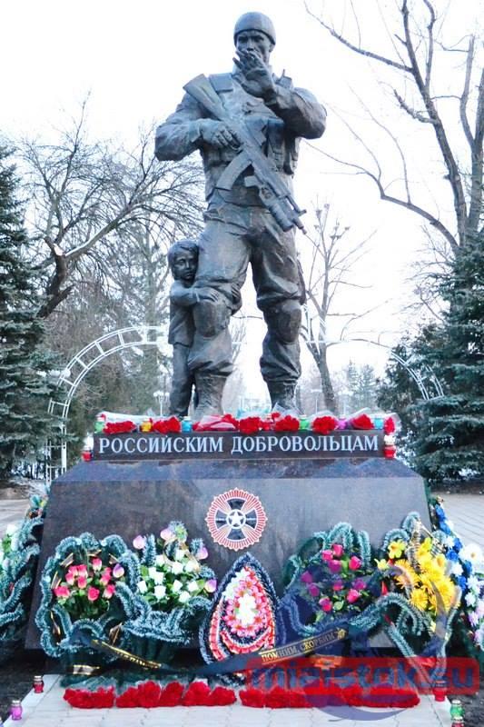 В Сирии и Луганске установили одинаковые памятники Фото: Facebook/Денис Казанский
