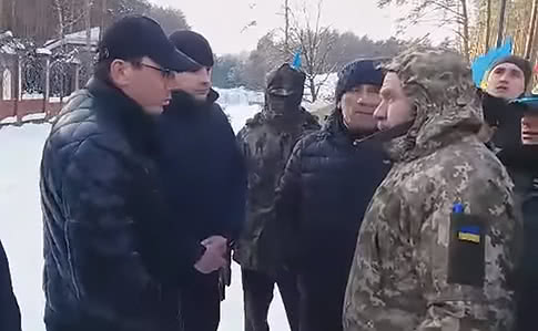 Юрий Луценко уже встречался с участниками акции