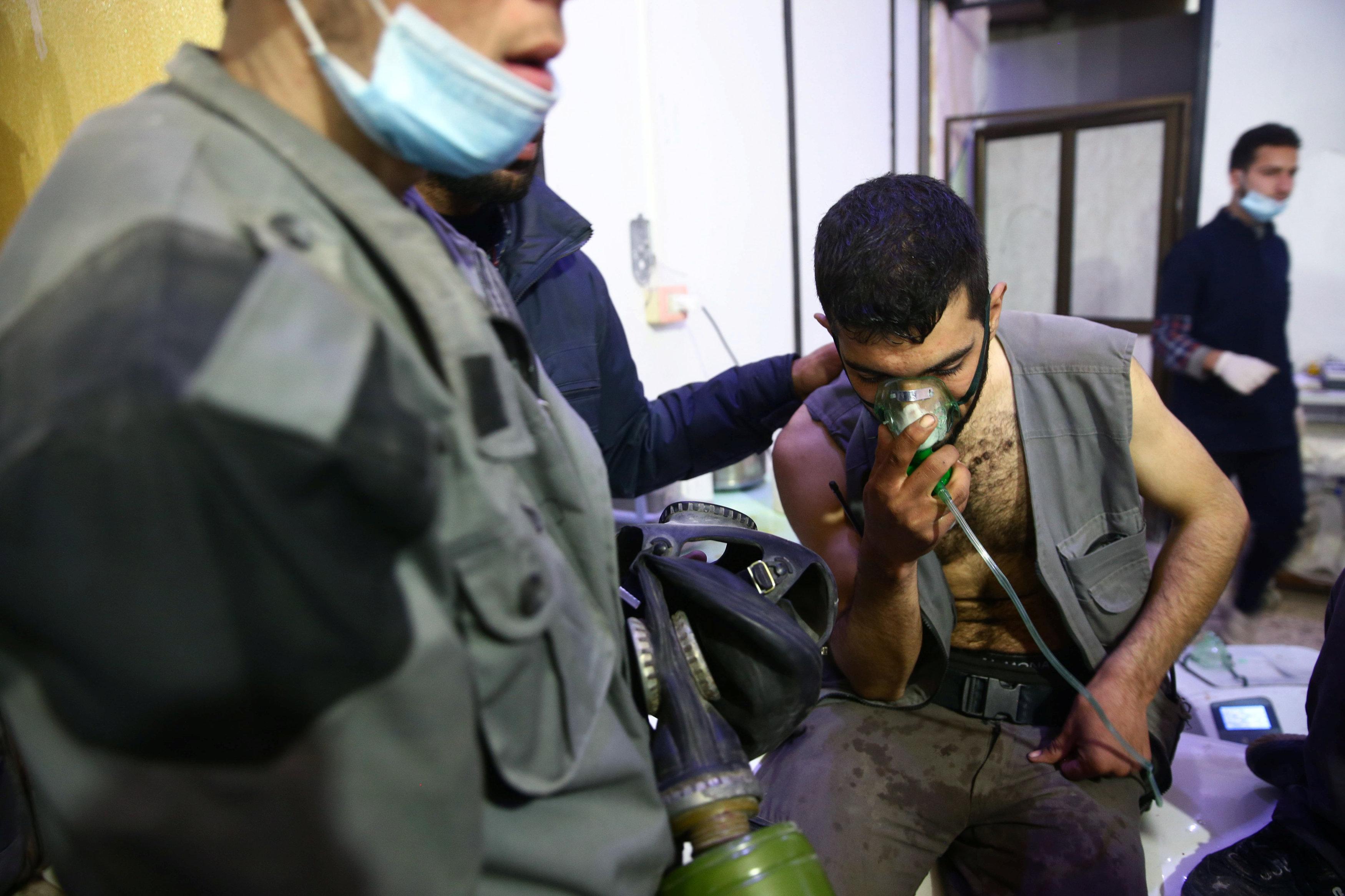 В Сирии произошла химатака