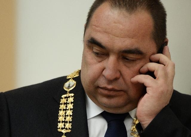Игорь Плотницкий в бытность главой группировки