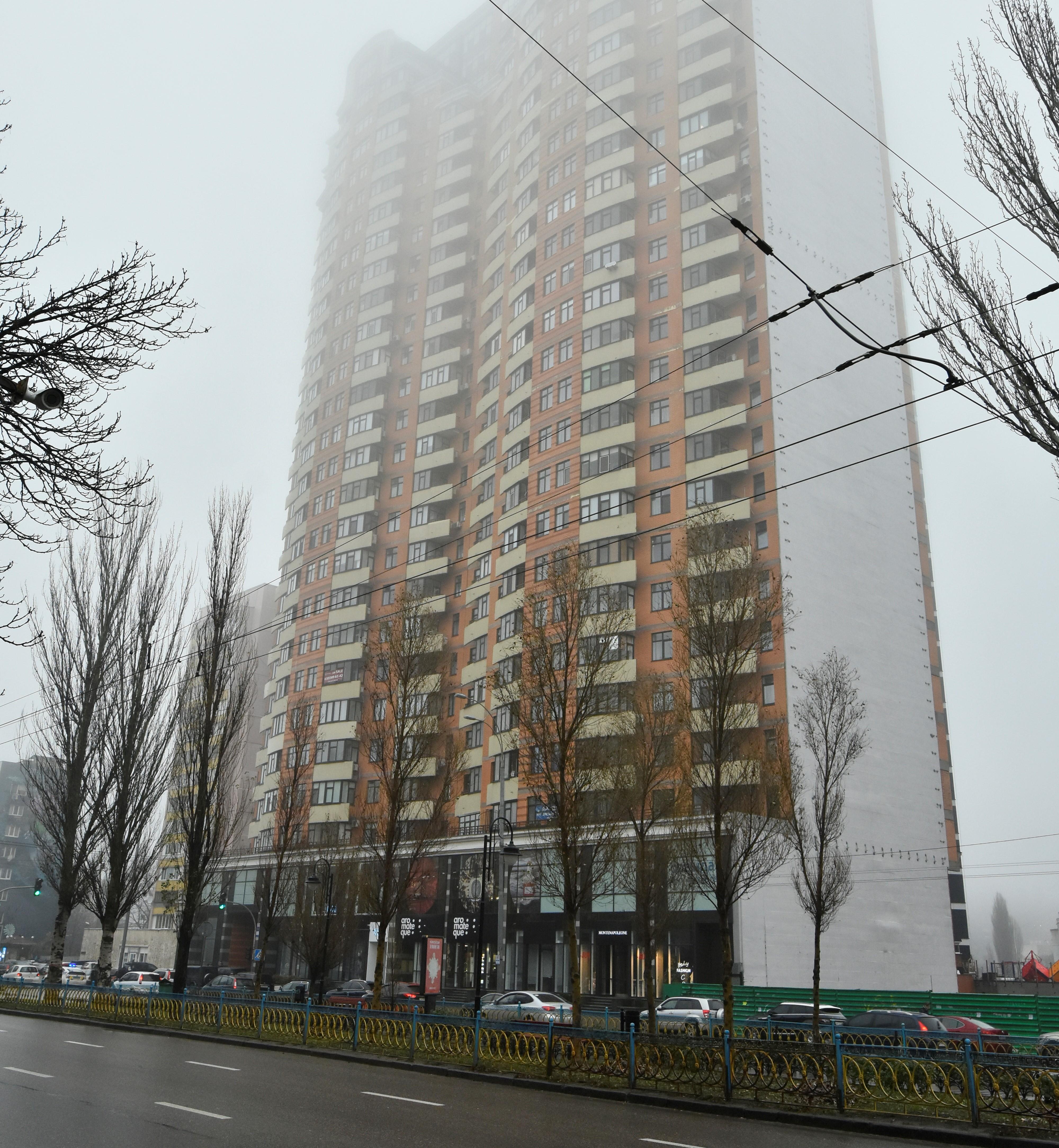 Высотка на бульваре Леси Украинки 7А. Фото: Аркадий Манн/Страна