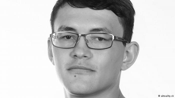 Журналист Ян Кучак был убит выстрелом в грудь Фото: DW