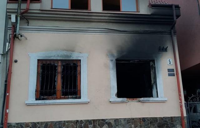 Последствия нападения на офис венгров в Ужгороде