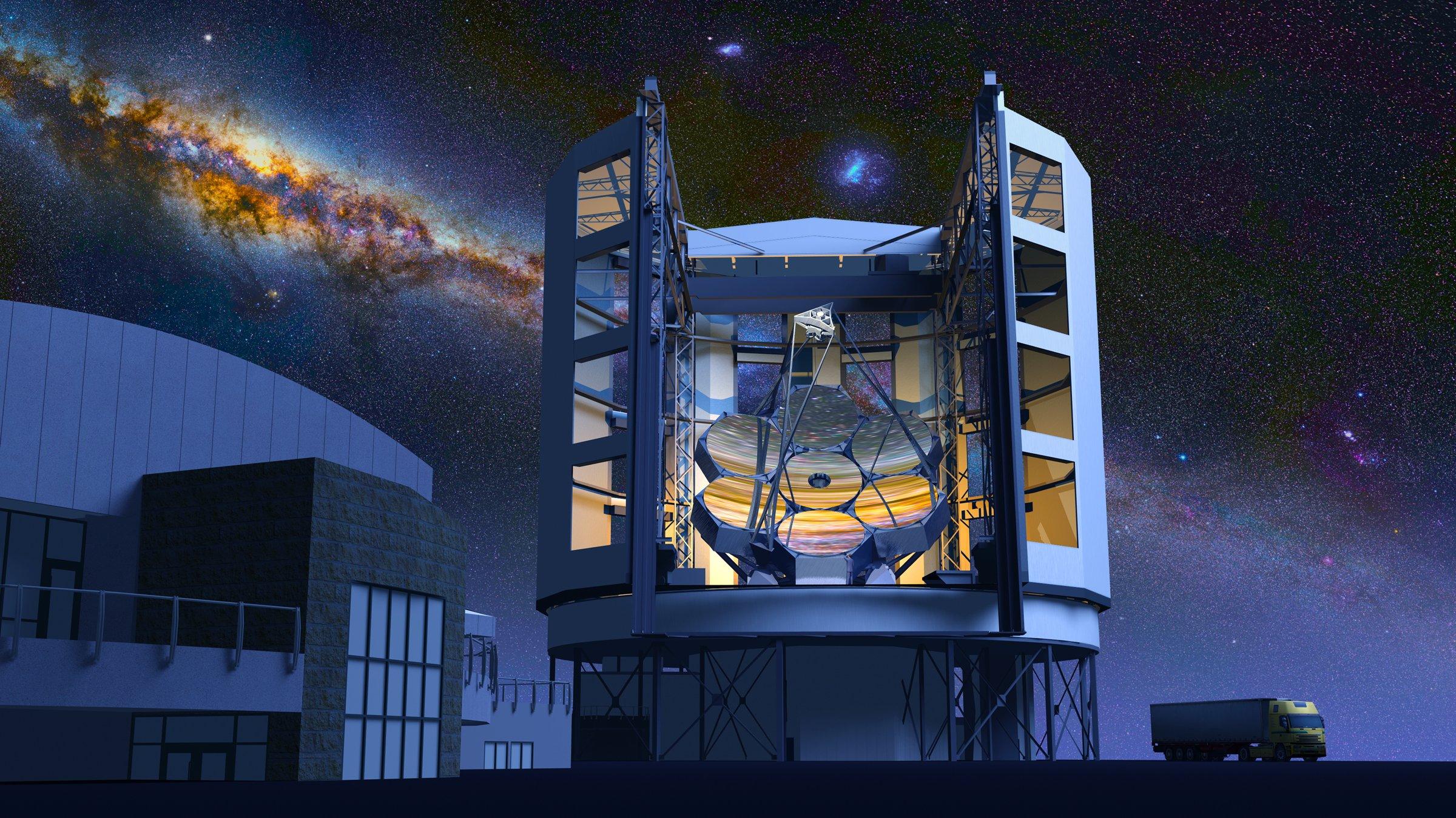 Строительство телескопа планируют завершить к 2020 году