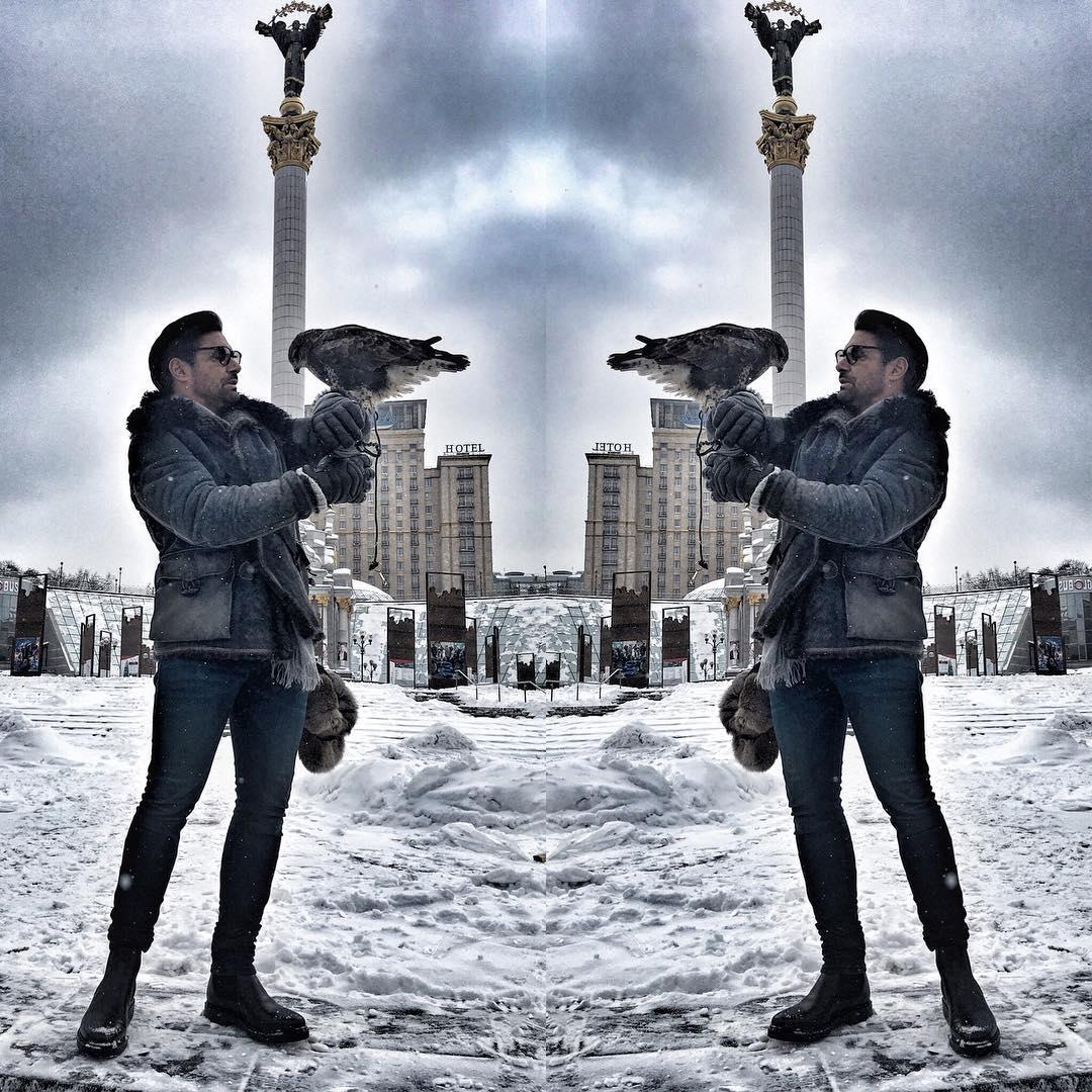 Ману Беннетт приехал в Киев