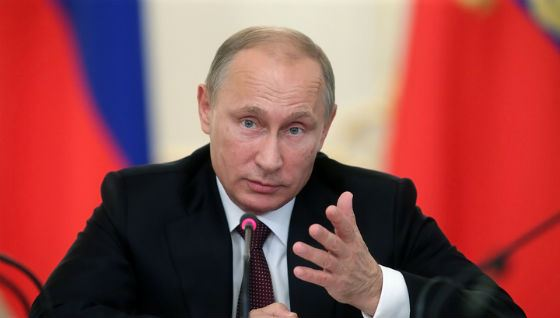 Владимир Путин сказал, что на Донбассе