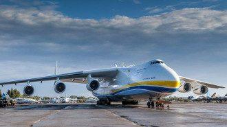Самолет Мрия