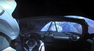 Электромобиль, Tesla, космос