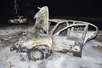 На въезде в Глеваху в результате ДТП пострадали три человека