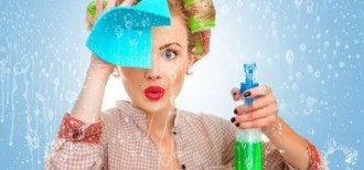Моющие средства, используемые жещиной