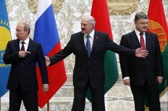 Лукашенко, Путин, Порошенко