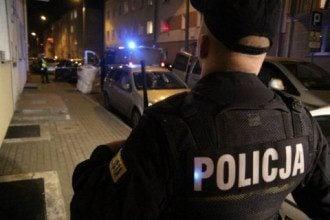 Польские полицейские попытались проверить документы у нетрезвых трудовых мигрантов Фото: dzienniklodzki.pl