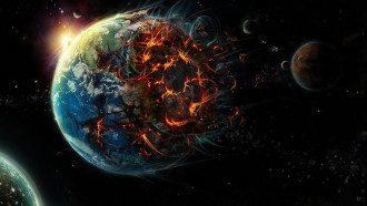 Земля атака из космоса
