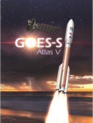 Запуск тяжелой ракеты-носителя Atlas V с метеорологическим спутником GOES-S прошел успешно
